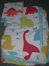 Dinosaur Cot Bed Bedding Set