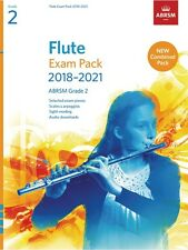 ABRSM Flute Exam Pack 2018-2021. Grade 2 (Includes Scales & Sight-Reading)
