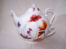 Tea for one aus Brilliantporzellan  * Mohn - Wiese *  ORIGINAL Jameson & Tailor