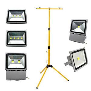Projecteur LED 30W 50W 70W 100W 150W 200W Lampe Travail Chantier Extérieur