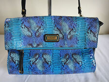 Nine West Snakeskin Look Handbag Clutch BNWT