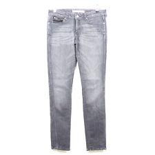 WRANGLER Jeans Denim Röhre Low Waist Slim Leg Molly Grau Gr. W26