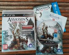 PS3 : assassin's creed 3 edition speciale