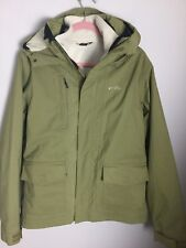 Oakley Khaki Green Fleece/Hooded Jacket. Size S. Ex Condition