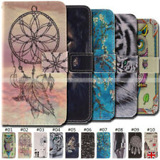 Magnetic Wallet Flip PU Leather Case Skin Protective Card Back Cover For Nokia