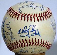 1990 St. Louis Cardinals Team Signed Baseball  Whitey Herzog FINAL SEASON Ozzie