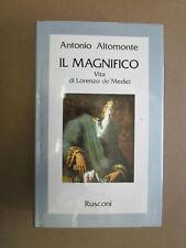 IL MAGNIFICO - VITA DI LORENZO DE' MEDICI - Rusconi 1982