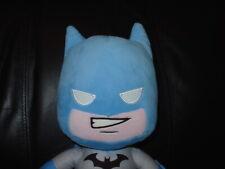 "Large DC Super heroes Friends Light Blue Batman Plush Teddy Toy 14"" BNWT"