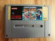 Mario Allstars Super Nintendo SNES Computer Video Game Loose PAL UK Cartridge