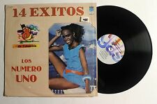 8 DE COLUMBIA Los Numero Uno LP Discos Gas Rec. 1494 US 1985 VG++ IN SHRINK 9A