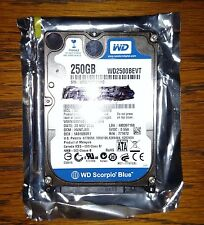 "Western Digital 5400RPM 250GB 2.5"" Laptop/Notebook Hard Drive WD2500BEVT-08A23T1"