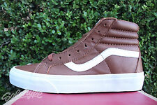 VANS CALIFORNIA SK8 HI REISSUE SZ 7.5 PREMIUM LEATHER TORTOISE SHELL VN 0ZA0GXE