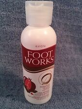 Avon Foot Works Pomegranate & Chocolate Soothing Foot Soak 3.4 fl oz Sealed