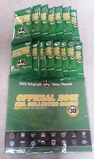 NRL Footy Card 2012 TELEGRAPH 3D full set Cards, 3D glasses and book
