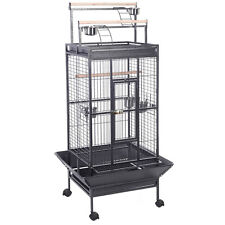 New Parrot Bird Finch Cage Cockatiel Parakeet Ladder Iron House Pet Supply