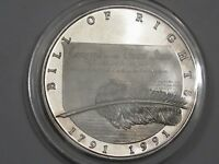 1991 Bill of Rights Silver Round. 1 Troy oz .999 Fine Silver.  #25