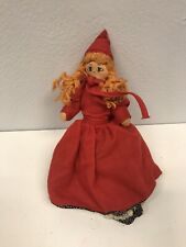 Vintage Little Red Riding Hood Changeable Puppet Doll