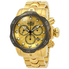 Invicta Venom Chronograph Gold Dial Mens Watch 23894