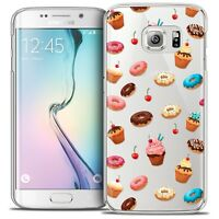 Coque Crystal Pour Galaxy S6 Edge Extra Fine Rigide Foodie Donuts