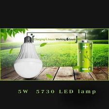 NEW LED Smart Bulb E27 5W- Emergency Light Rechargeable Battery Lighting Lamp SD
