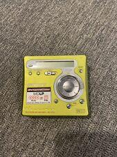 Sony Md Walkman Digital Recording Mini Disc Player Mz-R700 Green