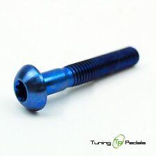 1x VITI TITANIO M5 x 35 mm, Torx, ISO 7380, gr5, testa cilindrica, Blu