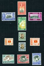 "Ceylon 1947-49 ""Inauguration"", ""Independence"" & ""UPU"" sets complete m/mint."