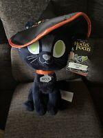 Disney HOCUS POCUS Thackery Binx 15'' Plush BRAND NEW IN HAND NWT Cat Halloween!