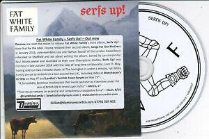 FAT WHITE FAMILY SERFS UP! RARE PROMO CD