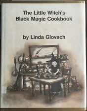 The Little Witches Black Magic Cookbook Halloween Glovach