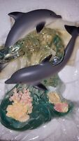 """DIVING DUET from LENOX, of the """"A Dream of Dolphins"""" Collection, NIB"""
