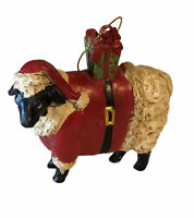 Farm Animal Black Sheep Christmas Ornament, New Without Box