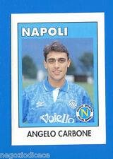AIC Calciatori 1992-93 - Figurina-Sticker n. 205 - CARBONE - NAPOLI -New