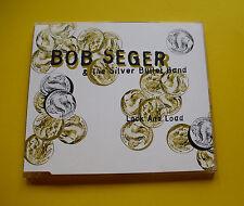 "CD "" BOB SEGER & THE SILVER BULLET BAND - LOCK AND LOAD "" SINGLE / 3 TRACKS"