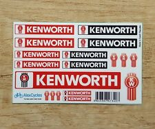 KENWORTH Tamiya 14th Scale 1/14 Reefer Trailer Decals Stickers Kit 56319 56302
