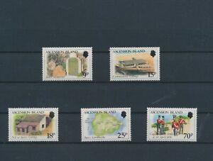 LO15668 Ascension Island cultural heritage fine lot MNH