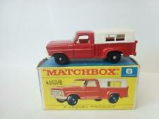 451-MATCHBOX LESNEY #6D FORD PICKUP TRUCK AND ORIGINAL BOX