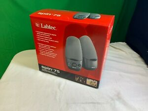 Labtec Spin-75 Multi-purpose Stereo Speakers - NEW