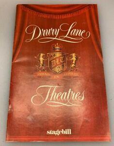 Stagebill Drury Lane Theatres Pearl Bailey Concert Chicago Illinois March 1981