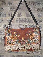 Large Vintage floral Carpet bag / carpet shoulder bag