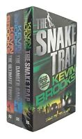Kevin Brooks 3 Books Travis Delaney Investigates Mystery Series 1 2 3 New