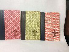 Readers Digest Decorative Book Covers Only Lot of 3 Fleur de li Cutout