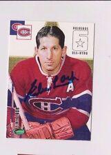 03/04 Parkhurst Original 6 Elmer Lach Montreal Canadiens Autographed Card #64