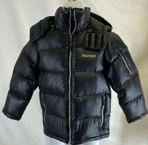 Marmot  Stockholm JR  Jacket # 72310 Young Men's  S ,Color Black 650Fill