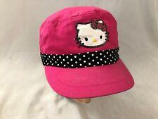Hello Kitty Pink Size S Stretch Baseball Cap Hat Cs