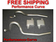 86-04 Ford Mustang GT Exhaust System w/ Full Boar One Chamber Mufflers