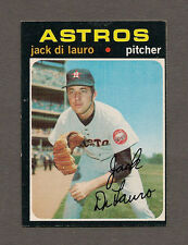 1971 Topps Baseball HI#677 Jack DiLauro SP EX-MT SHORT PRINT card Houston Astros