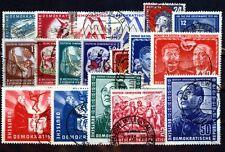 DDR Jahrgang 1951gestempelt