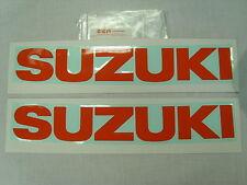 Pair of Genuine Suzuki Tank Sticker Decals GSX750 GSX1000 GSX1100 SZ SD Katana