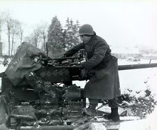 """Anti-aircraft battery Battle of the Bulge 8""""x 10"""" World War II Photo Picture 23"""